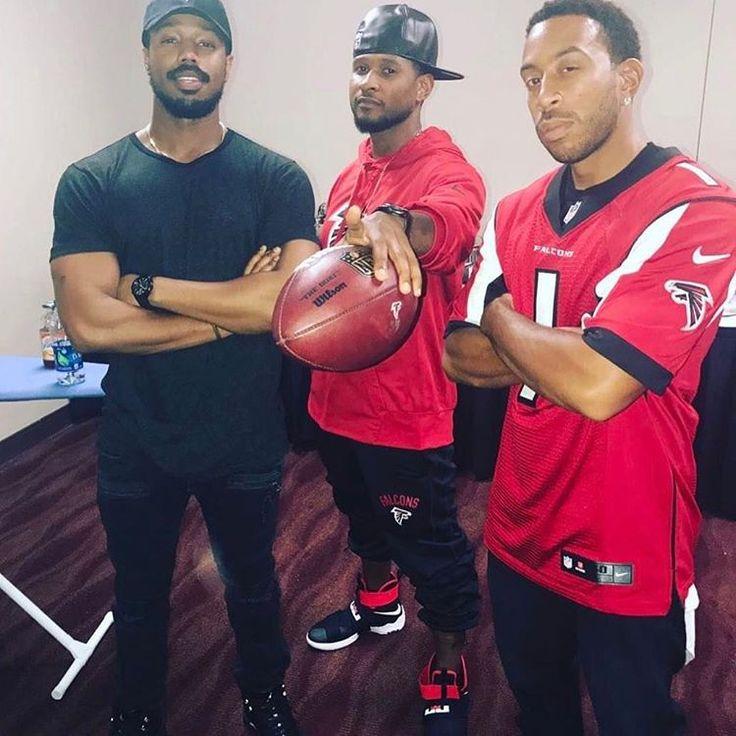 Michael B. Jordan, Usher, Ludacris #ATown