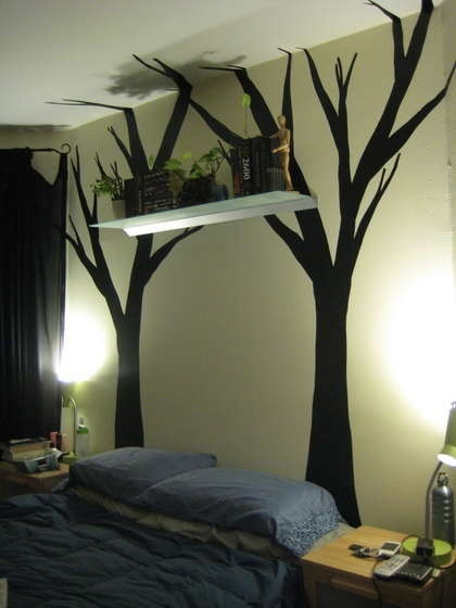 Diy Wall Decals Using Contact Paper Crafts To Do Artsy