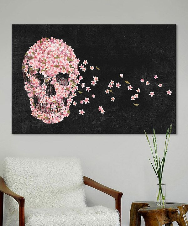 Look at this Terry Fan A Beautiful Death Landscape Gallery-Wrapped Canvas on #zulily today!