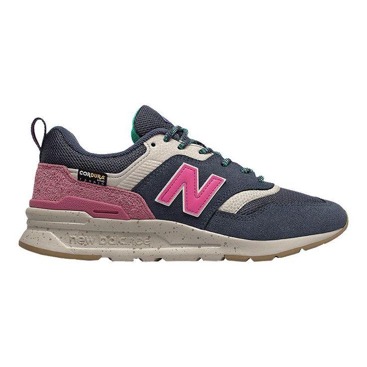 New Balance Women S 997h Cordura Shoes Navy Carnival Pink New Balance New Balance Women New Balance Pink