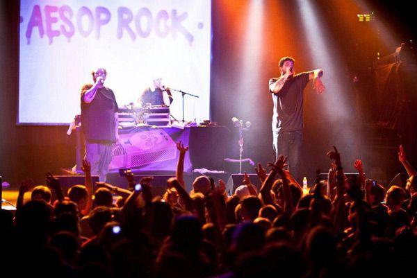 aesop rock, rob sonic, blockhead, homeboy sandman, dj abilities. 2.14.15. gramercy theater.