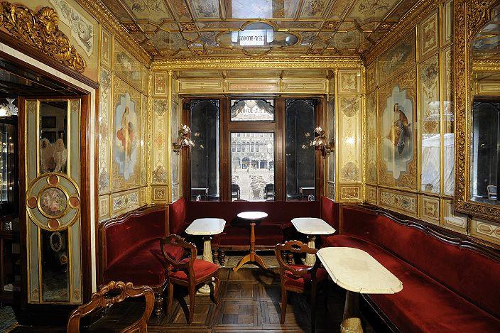 Sala del Senato - The hall of the seasons where Venice #biennale was born   Caffè #Florian a #Venezia San Marco - Florian #cafè in #Venice Saint Mark #travel #travelinspiration #italy #italia #veneto #instaitalia #italianalluretravel #lonelyplanetitalia #lonelyplanet #italianart #art