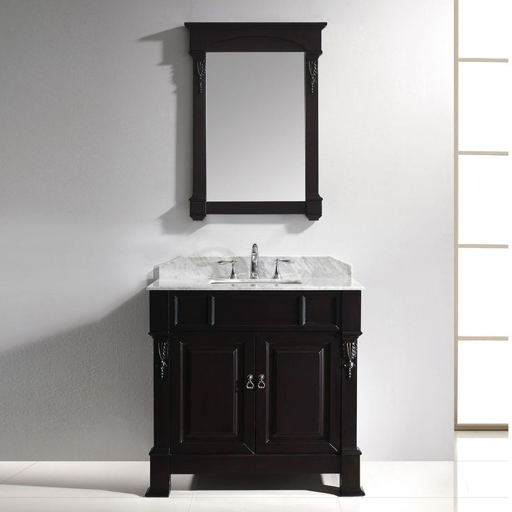 Best 25 Dark Vanity Bathroom Ideas On Pinterest