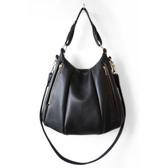 35 best Black Leather Handbags for Women images on Pinterest ...