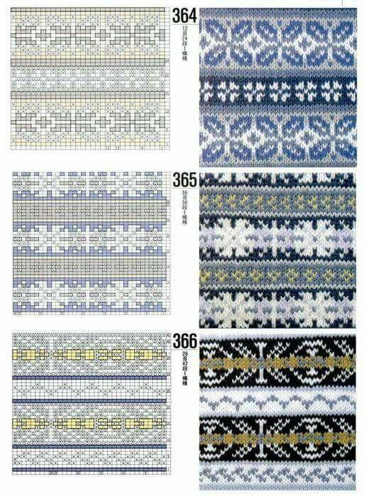 49 best Knitting stitches fairisle images on Pinterest | Knitting ...