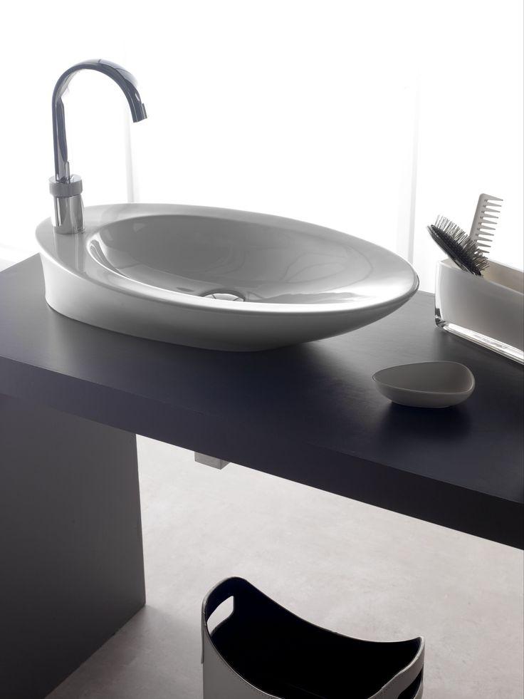 17 best images about lavabos de porcelana oval on for Embellecedor rebosadero lavabo