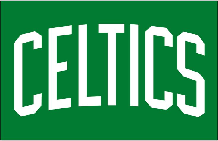 Boston Celtics Jersey Logo 1970- Present