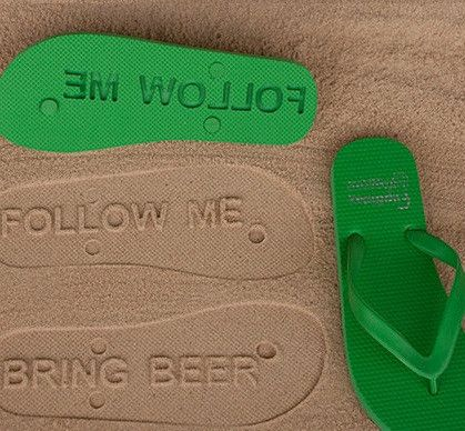 A summertime treat like no other, a pair of these will give your groomsmen an opportunity to embroider a beach with their name, nickname or hilarity.