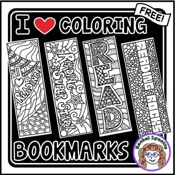 Your students will love these  Reading Bookmarks! Here are some suggestions on how to use them:  Print on white cardstock or print on regular white printing paper and laminate after students have colored.  Coloring can be a calming activity for many children (and adults). Allow a few minutes of coloring after stressful activities, during indoor recess, or free time.   Keep a supply available for whenever students want to color.   Give bookmarks out as rewards.