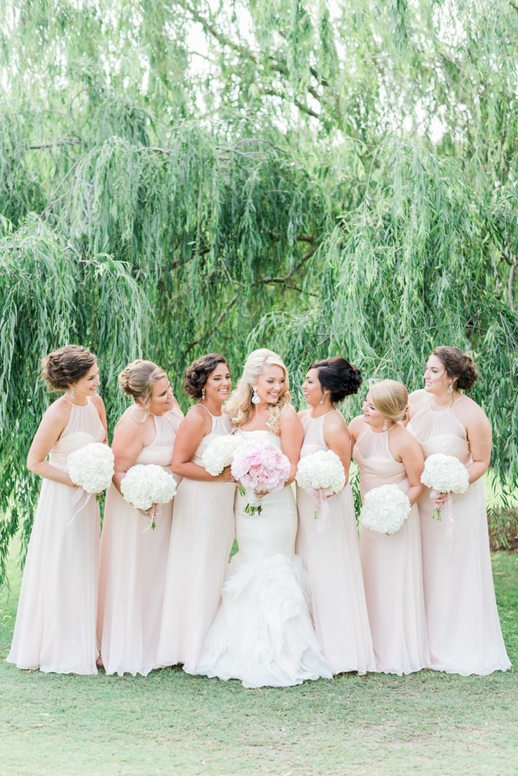314 best bridesmaid dresses images on pinterest pink bridesmaid blush bridesmaid dresses from romantic blush wedding at the watson house in emerald isle nc ombrellifo Images