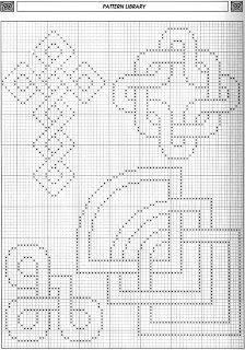 Celtic motifs 2 free cross stitch pattern                              …