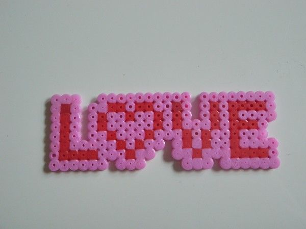 Love perler bead by favicon