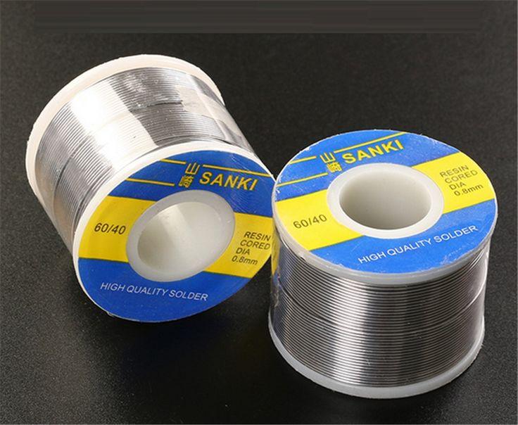 12.82$  Buy now - http://alihy7.shopchina.info/1/go.php?t=32817910912 - New Welding SANKI solder wire Reel 250g FLUX 2.0% 0.5mm 60/40 45FT Tin Lead Line Rosin Core Flux Solder Soldering Wholesale 12.82$ #aliexpressideas
