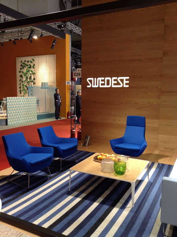 Swedese at Salone del Mobile 2014 Happy - Lime