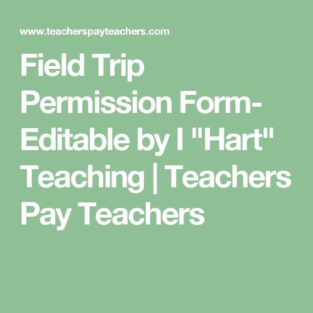 Best 25+ Field trip permission slip ideas on Pinterest Daycare - pay slip download