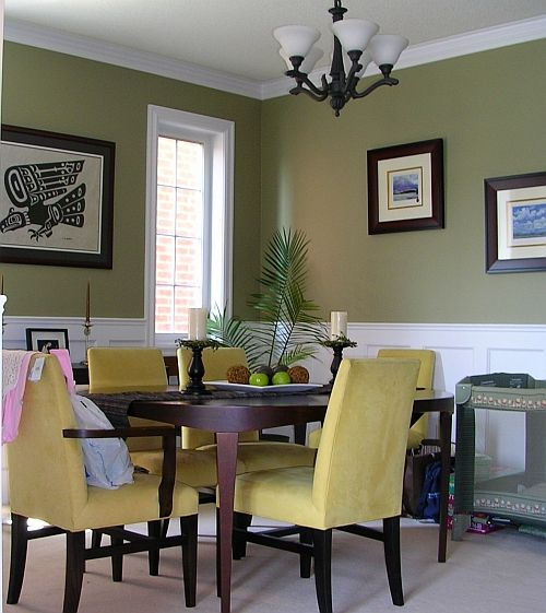 Dining Rooms With Wainscoting: Dining Room Idea....ahhhh Wainscotting!