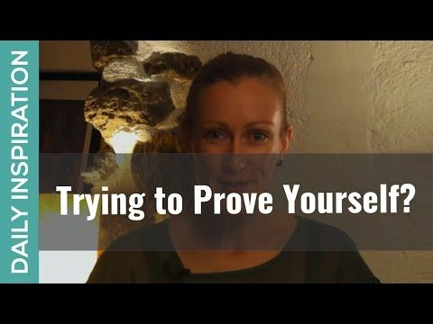 Trying to Prove Yourself - ❤ SUBSCRIBE ❤ http://www.youtube.com/subscription_center?add_user=pinchmelivingdotcom - Are you trying to prove yourself to anyone? Someone specific in your life, generally to your peer group or society, or maybe to yourself? Here's the truth about trying to prove yourself, and a few ideas to help set you free. Plus - click through to download the free Confidence & Self-Belief Affirmations Audio to support your journey…