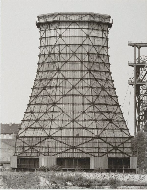 Bernd and Hilla Becher, Cooling towers, Germany, 1964-1993,  printed 2003