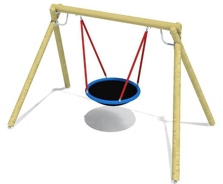 eibe unique Eagle 2 swing with nest seat D120cm