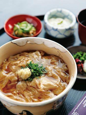 Yuba (Tofu Skin) Donburi | Kyoto, Japan 生ゆば丼