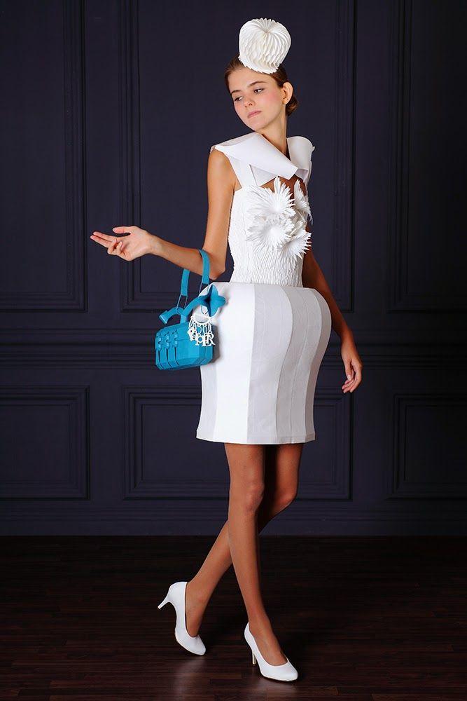 Paper Dress No. 65  by Tobias Binderberger