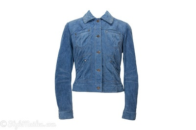 DANIER Suede Jacket Size S   at http://stylemaiden.com