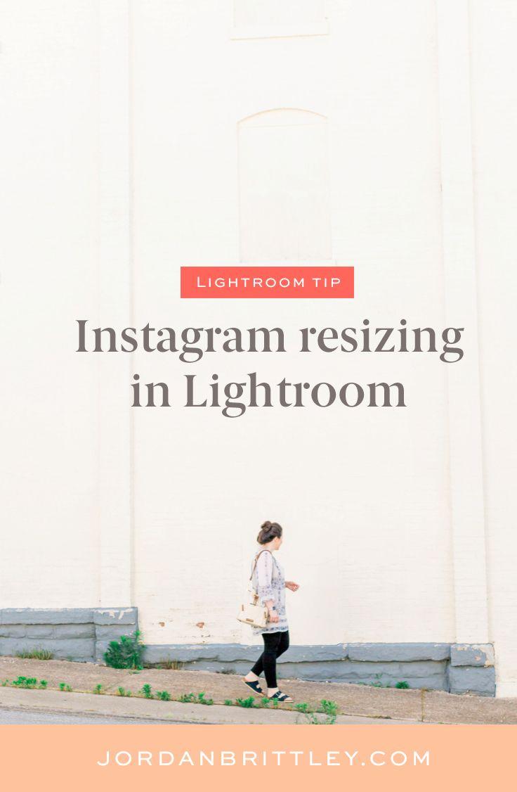 Instagram export settings lightroom