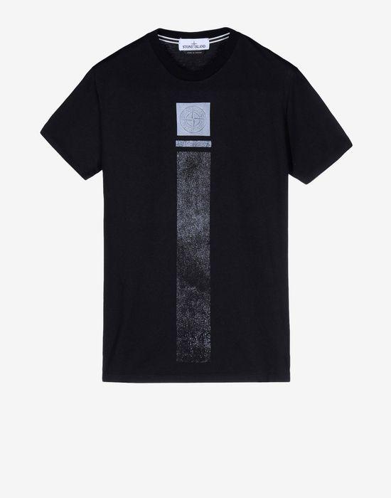 20185 LOGO EMBROIDERY T Shirt Maniche Corte Stone Island Uomo - Stone Island Online Store Ufficiale