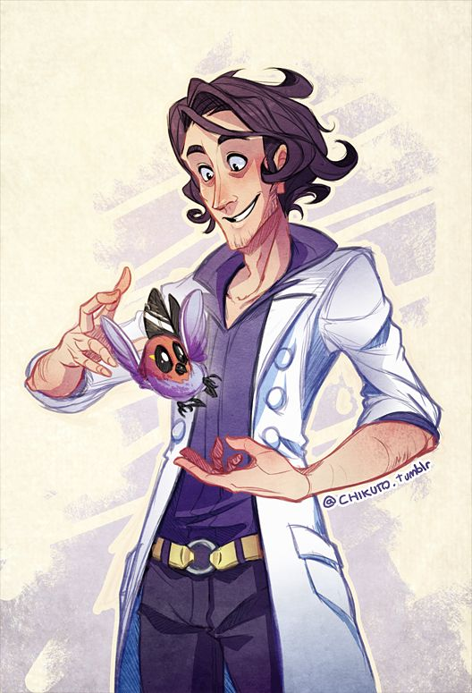 17 best images about professor sycamore on pinterest