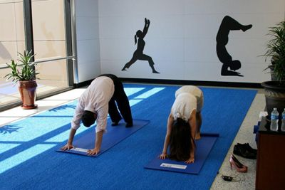 Downdog on the Go in These Airports With Yoga Rooms: Dallas/Fort Worth International Airport