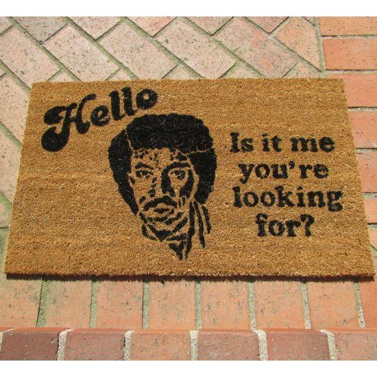 Lionel Richie Doormat get it here http://shutupandtakemymoney.com/lkuo