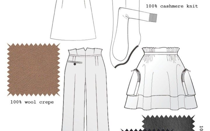 Knowledge of Construction Sample by Nancy Kwan: http://www.universityoffashion.com/lessons/portfolio-tips-fashion-college-admissions/