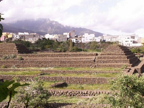 Les six pyramides - Tenerife.