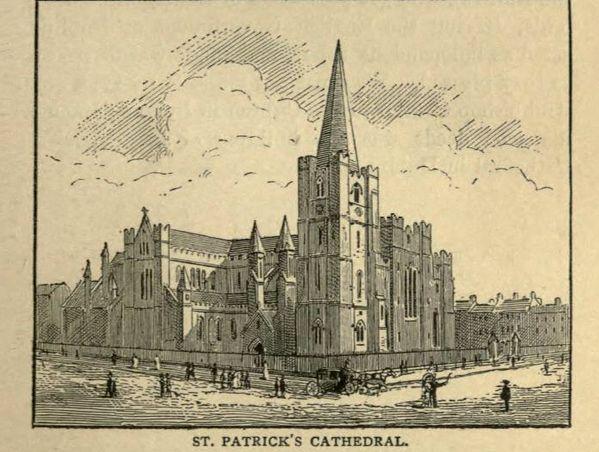 St Patrick's Cathedral, Dublin...Permalien de l'image intégrée