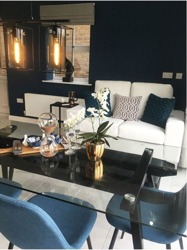 Neo Dining Table and Zilo Dining Chair in Vogue Show homes stunning setting