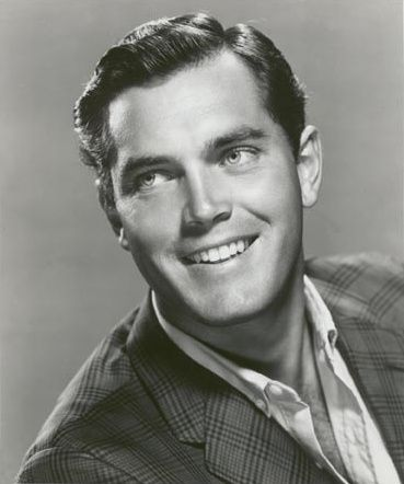 Jeffrey Hunter, American film and television actor, served stateside in the…