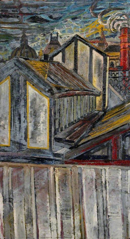 Roofscape, 1954 By John Bratby. Find This Pin And More On Kitchen Sink  Realism ...