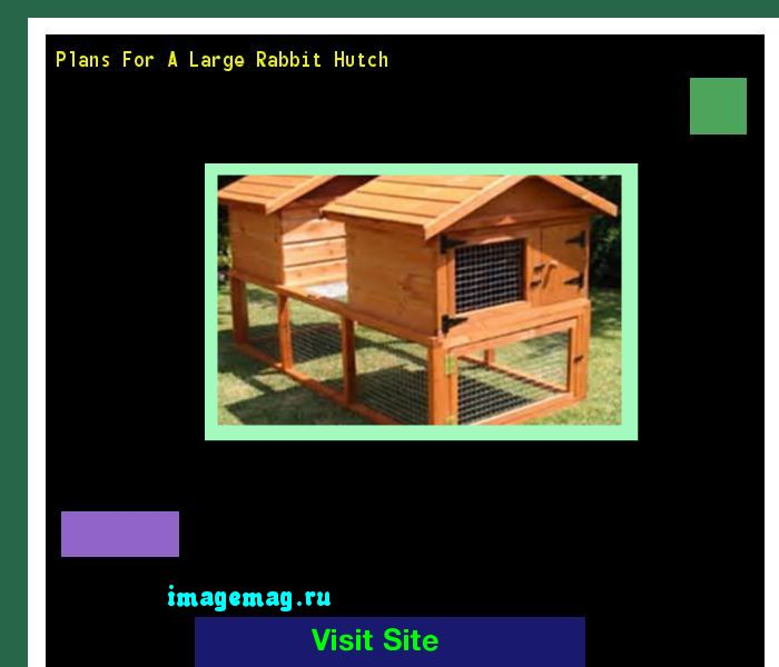 Plans For A Large Rabbit Hutch 173804 - The Best Image Search