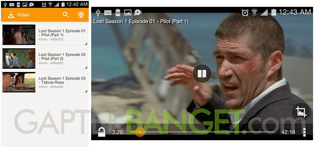 4 Pemutar Video Android terbaik -MX Player -VLC For Android -DicePlayer -BSPlayer simak reviewnya..