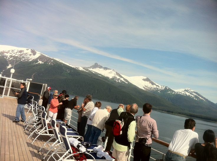 Tracy Arm Glacier Viewing  HAL Cruises Oosterdam