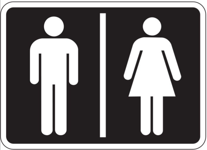 Male Female Bathroom Symbols 28 Best Male And Female Bathroom Signs Images On Pinterest .