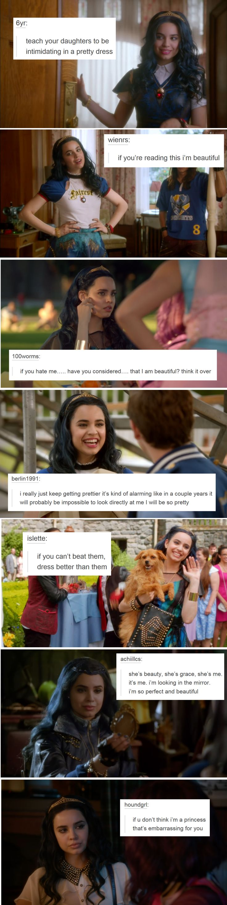 Idk who this Evie child is, but I feel these texts posts in my heart