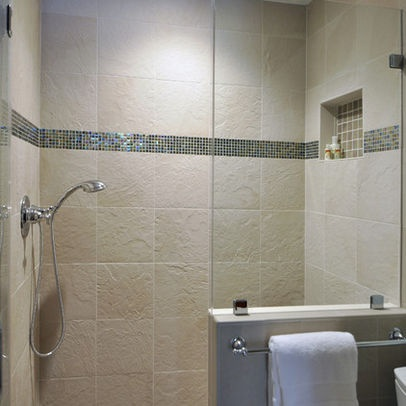 Doorless Shower Design Ideas, Pictures, Remodel, And Decor   Page 20