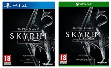 [Angebot Import]  The Elder Scrolls V : Skyrim  Special Edition (Playstation 4 und Xbox One) für 1990