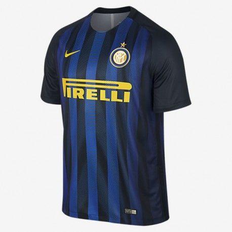 Maillot Inter Milan  2016-2017 Pas Cher Domicile