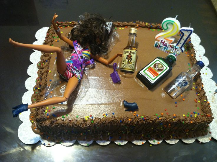 Cake Decorating Ideas For 21st Birthday : ok, this is pretty funny. 21st birthday cake Party ...