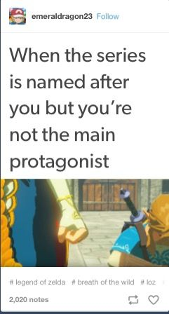 We haven't even seen her face yet, but Zelda has already given Arthur a run for his money