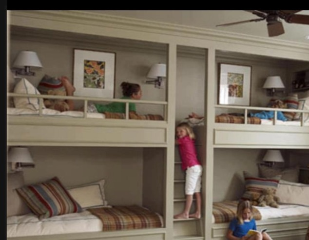 Built in bunk beds cost woodworking projects plans for Bunk bed alternative