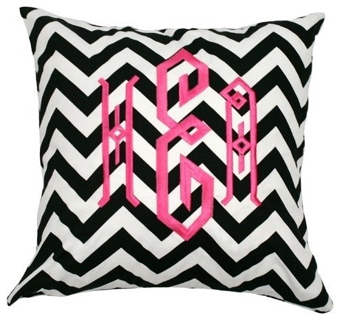 How To Make A Monogram Throw Pillow : 17 Best images about Monogrammed on Pinterest Typography, Chairs and Chevron throw pillows