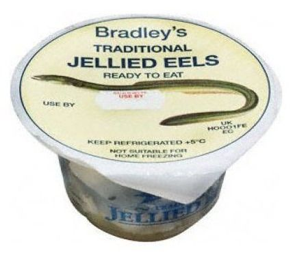 """Jellied Eels ... UGH!! ... I understand it's a """"cultural"""" thing... As my British friends love it!"""